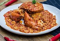 新加坡辣椒炒蟹 美食台的做法