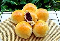 #中秋团圆食味#紫薯馅糯米粉小餐包的做法