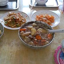 士豆红萝卜炖牛肉
