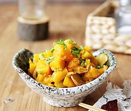 秋季补钙素炒南瓜的做法