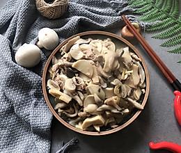 菌菇炒肉的做法