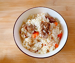 家常版羊肉手抓饭的做法