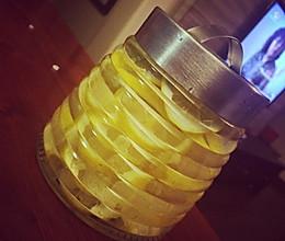 夏天来啦!柠檬醋(!减肥瘦身必备~)的做法