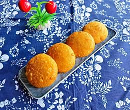#新春美味菜肴#油炸饼的做法