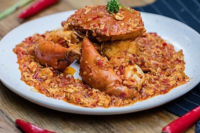 新加坡辣椒炒蟹|美食台