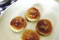 香蕉糯米小馅饼的做法