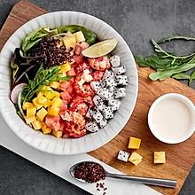 水果大虾色拉,拯救夏季食欲不振