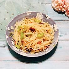 炝拌土豆丝#520,美食撩动TA的心!#