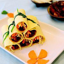 北京菜-京酱肉丝卷-二个步骤让肉丝更嫩