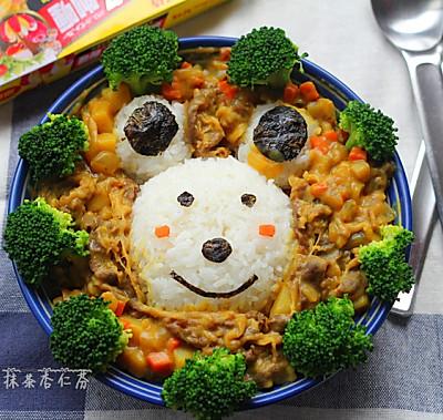 萌小熊咖喱饭