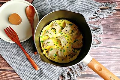 颜值这么高的煎饺抱蛋,端上桌肯定倍有面子!