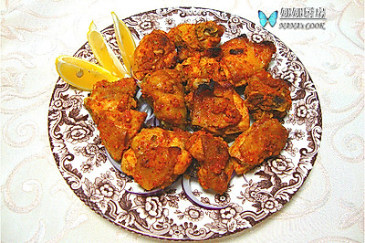 古印度的皇家料理:唐杜里鸡