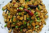 蒜苔炒干子的做法