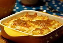 芝士控的快手晚餐--芝士菠萝焗饭的做法
