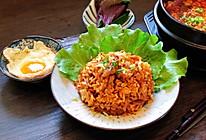 开胃的辣白菜五花肉炒饭的做法
