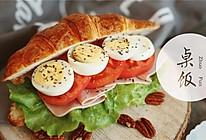可颂三明治的做法