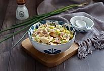 五花白菜冻豆腐的做法