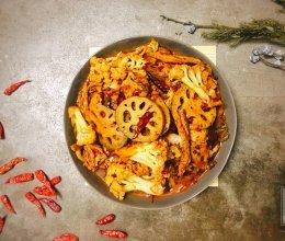 香辣什蔬焖锅(素食)的做法