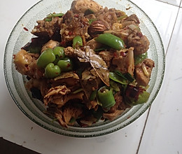 青椒辣子鸡的做法