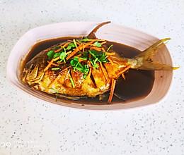 家常版:糖醋鱼(煎鱼不掉皮)的做法