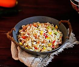 #秋天怎么吃#杂蔬炒饭的做法