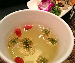 菊花枸杞茶的做法