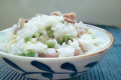 豌豆饭(麦豆饭)