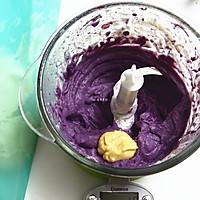 山药紫薯双色杯子戚风蛋糕的做法图解14