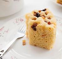 玉米面发糕--懒人的美味的做法图解8