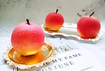 苹果造型慕斯法点 新奇好玩#我爱我的祖国的做法
