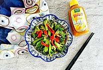 #太太乐鲜鸡汁玩转健康快手菜#鲜美快手菜鸡汁西兰花的做法