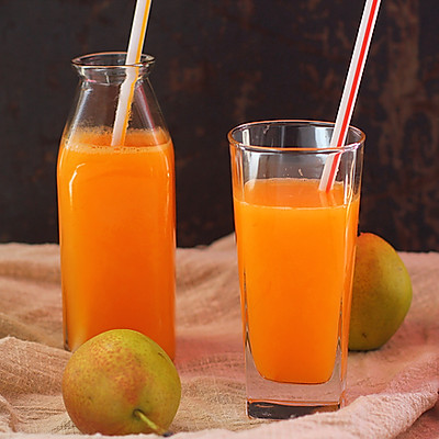 香橙胡萝卜汁