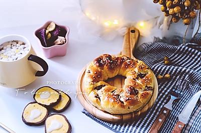 3股红豆沙辫子面包