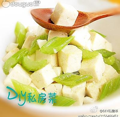 芹菜烧豆腐