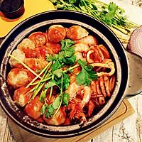 酱焖鸡翅海鲜锅的做法图解10