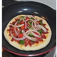 平底锅披萨的做法图解13