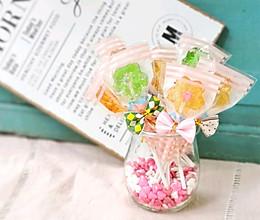 甜蜜蜜——花朵棒棒糖