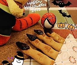 万圣节恐怖手指饼干的做法