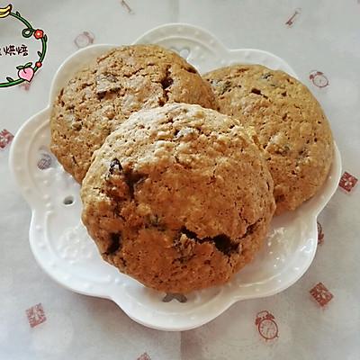 燕麦葡萄饼干