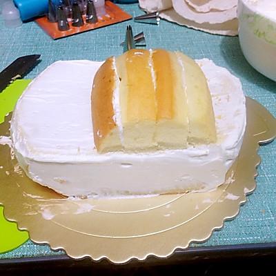 汽车蛋糕的做法 步骤1