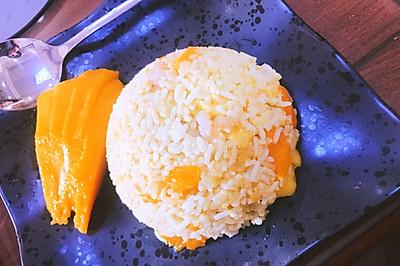 虾仁芒果炒饭