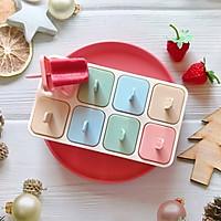 草莓酸奶冰棒的做法图解5