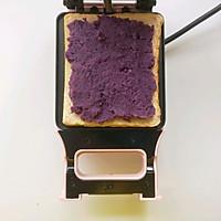 紫薯三明治的做法图解4