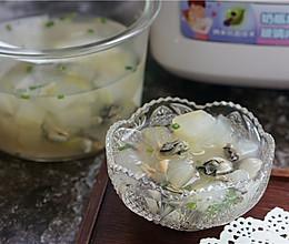 干贝海蛎冬瓜汤的做法
