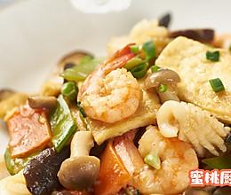 #餐桌上的春日限定#八珍豆腐的做法
