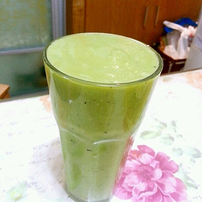 【代餐】牛油果奇异果苹果汁