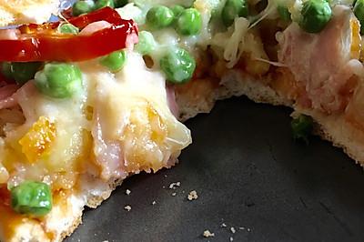 升级版 超厚土豆培根披萨 超满足