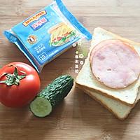 贪吃豆芝士三明治#百吉福食尚达人#的做法图解1