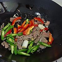 小炒牛肉的做法图解6