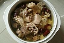 红枣鸡肉汤的做法